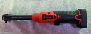 New Snap-On 14.4V Micro lithium Cordless ¼'' Long Neck Ratchet w/ battery