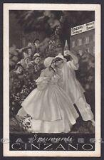 CINZANO - probabile illustratore CAPPIELLO Cartolina PUBBLICITARIA viagg. 1930