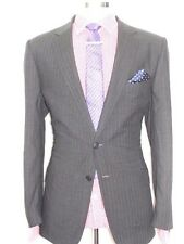 MENS LUXURY  JAEGER  CLASSIC LONDON TAILOR-MADE IN  GREY  SUIT 42REG W36 XL32