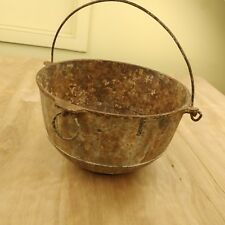RARE GRISWOLD'S ERIE # 3 DUTCH OVEN KETTLE POT #785 YANKEE BOWL primative rustic
