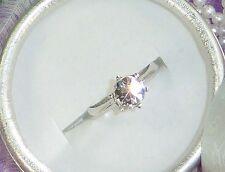 Diamant-Ring, Brillant-Schliff, Rhodiniert, Gr. 62; edles Schmuck-Geschenk