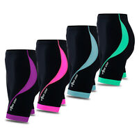 Women Cycling Tights Shorts Padded Ladies Leggings Cool Max Anti Bac Pad