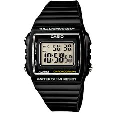 Casio W-215H-1AV Black Classic Unisex Digital Watch with Gift Box Included