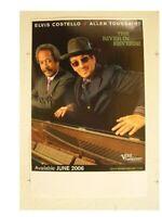 Elvis Costello Allen Toussaint Poster The River Promo