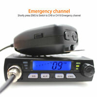 Mini CB Radio CB-40M 25.615-30.105MHz 10M Amateur 8W AM/FM Citizen Band CB Radio