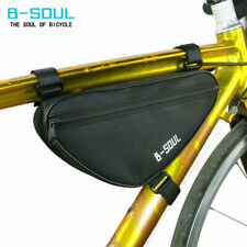 B-SOUL Waterproof Bicycle Bike Triangle Frame Bag Front Top Tube Pouch Bag US