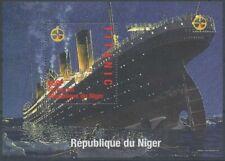 [36233] SUP  **/Mnh    - Niger 1998 - Naufrage du TITANIC - Sur bloc feuillet mo