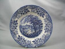 Unboxed Staffordshire Pottery Dinner Plates