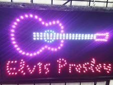 Elvis Presley LED Neon Sign,Rack Roll sign,store sign,smoke shop,Window sign