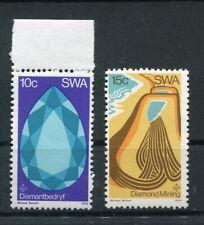 SWA - Namibia 399/400 postfrisch / Diamanten .............................2/8438