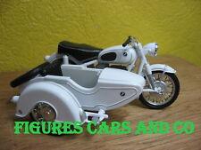 MOTO CLASSIQUE  1/24 BMW R69S + SIDE CAR SIDECAR STEIB
