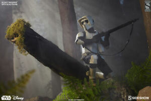SIDESHOW:EXCLUSIVE:STAR WARS Ep6 ROJ~SCOUT TROOPER 1:6 Scale Figure