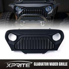 Gladiator Front End Black Angry Monster Grille for 97-06 Jeep Wrangler TJ