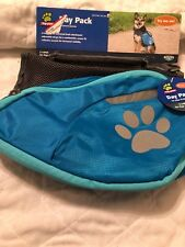 Top Paw Dog Day Pack Light Blue - Large 55 - 75 lbs NWT
