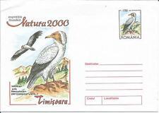 Romania Natura 2000 Timisoara Neophron Vulture Prepaid Postal Stationery / Cover