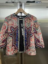Zara Woman Premium Collection Aztec Jacket Size Small New