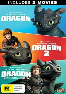 How To Train Your Dragon 1-3 DVD