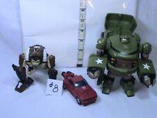Transformers action figures Lot #8, Parts