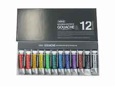 Holbein Artists Gouache Opaque Watercolor 12 Colors Set 15ml Tubes G711