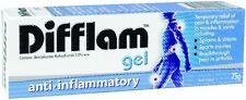 DIFFLAM GEL 3% ANTI-INFLAMMATORY 75G FOR MUSCLE PAIN SPRAINS STRAINS ARTHRITIS