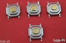 4 x Switch Button Repair Remote Key Fob Card Renault Laguna Espace - 4 Pcs - V5