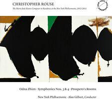 Christopher Rouse / - Odna Zhizn - Symphonies Nos. 3 & 4 - Prospero's [New CD]