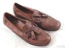 Cole Haan D11198 Country Woven Stitched Tassel Casual Loafers Womens US 7 1/2 AA