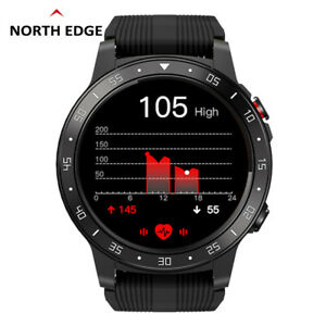 North EDGE Men GPS Smart Watch Bluetooth Call Sports Watch Atmospheric Pressure