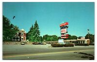 1970s/80s President's City Motel, Quincy, MA Postcard