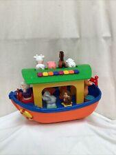 Big Steps Kiddieland Play Noah's Ark Activity Toy Very Good Con