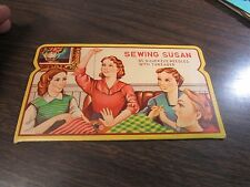 50's Sewing Susan Needle Book-Assorted Needles - Very Good