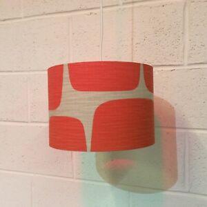 Beautifully Handmade Drum Lampshade In Scion 'Lohko' Fabric