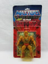 MOTU,Vintage,HE-MAN,Masters of the Universe,MOC,carded,Sealed,figure,NIP