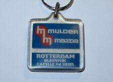 VINTAGE KEYCHAIN KEY RING CAR BRAND MAZDA 1970s HOLLAND