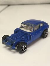 Corgi Juniors E Type Jaguar 2+2 Whizzwheels Blue Made in United Kingdom