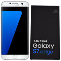 BNIB Samsung Galaxy S7 Edge SM-G935F 32GB White Factory Unlocked 4G/LTE Simfree