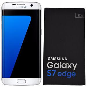 BNIB Samsung Galaxy S7 Edge SM-G935F 32GB White Factory Unlocked 4G/LTE Simfree