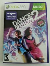 XBOX 360 DANCE CENTRAL 2 (KINECT) Pre-owned Tested & Working - FREE SHIPPING