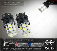 LED SMD T25 3157 P27/7W Xenon White DRL Side Parking Lamps Reverse Lights Bulbs