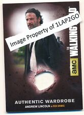 Walking Dead Season 4 Part 2 Wardrobe Card M-31 Andrew Lincoln as Rick Grimes D