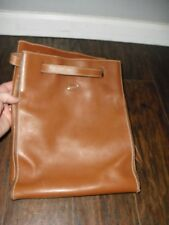 Tods  Tan Leather Silver Tone Hardware BACKPACK /Handbag