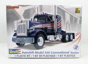 Revell Peterbilt 359 Conventionnel Tracteur 85-1506 1/25 Plastique Camion Kit