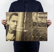 Eminem / singer / fashion / kraft paper bar decoration painting