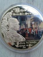 Medaille**O 70 mm**Eröffnung Reichstag Kaiser Wilhelm II*999 vergoldet 110g*