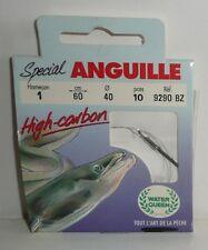 Hameçons montés VMC N°1 0,40mm spécial Anguille