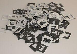 200 Stück Diarahmen zweiteilig 24x36 5x5 KB-Rahmen Kleinbild Diarähmchen