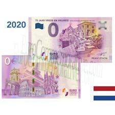 Billet Touristique Euro Souvenir '' 75 Jaar Vrede En Vrijheid 2'' 2020