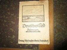 Deutsches Lied - Zeichnungen von Otto Ubbelohde