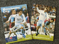 Manchester City v West Ham 2008 FA CUP 16/1/08! FREE UK POSTAGE! LAST TWO!!!