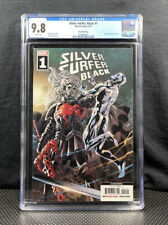 Silver Surfer Black 1 - 2nd print cgc 9.8 Knull Cameo Cates Marvel Key Hot Cover